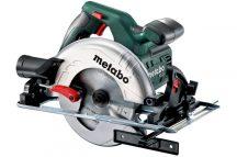 Metabo KS 55 kézi körfűrész + koffer 1200 Watt / 160 mm-es tárcsaátmérő - 600855500 , 6.00855.50
