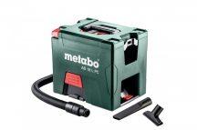 Metabo AS 18 L PC Akkus Porszívó 2 x 18V - 5,2 Ah LiPower (karton) 602021000