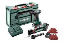 Metabo Combo szett 2.6.1 18 V - MT 18 akkus multigép + BS 18 fúró-csavarozó + koffer 685081000 , 6.85081.00