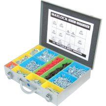 KÖZEPES HANDI-BOX TWIN THREAD WOODSCREW PACK - MTL6150010K