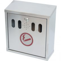 WALL MOUNTED STAINLESS STEEL ASH BIN - MTL9078120K
