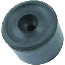 35 mm-es gumi ütközővel FEKETE - MTL9499120K