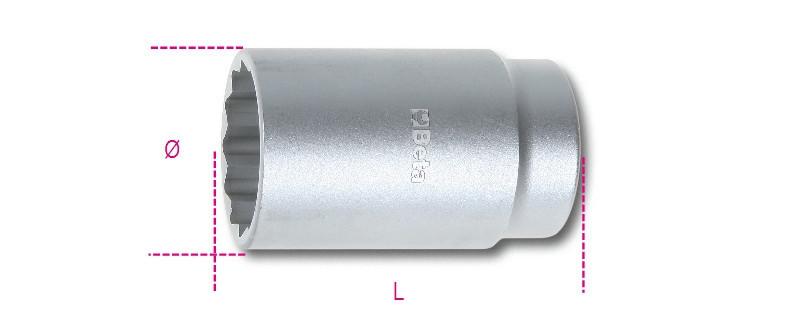 Beta 969B 34 Kerékagyszerelő dugókulcs