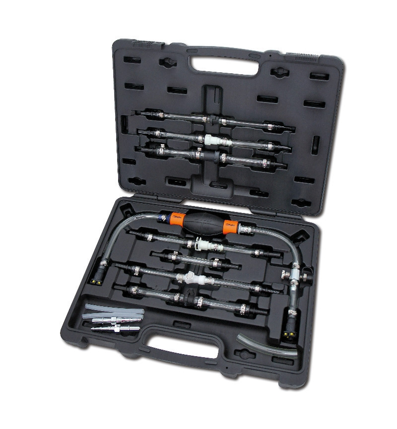 Beta 1480 Gázolajszűrő feltöltő készlet elektromos szivattyú nélküli autókhoz Gumiabroncsfújó pisztollyal is használható
