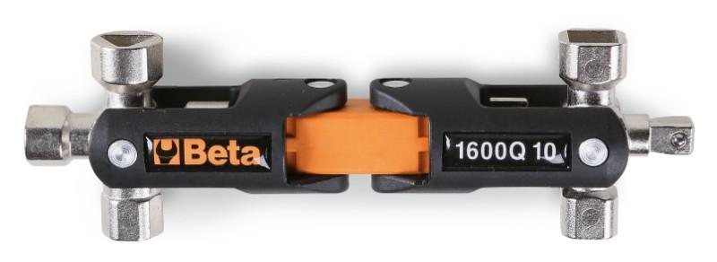 Beta 1600Q 10 Nyolcágú csuklós csavarkulcs, vezérlőpanel kezelőknek
