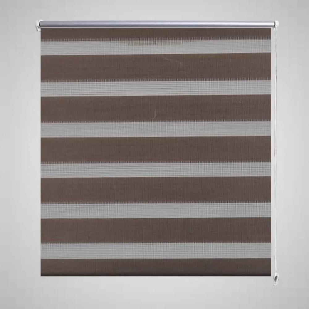 Zebra roló 117 x 175 cm Kávészínű